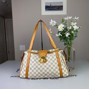 Louis Vuitton Damier Stresa Shoulder Bag Satchel